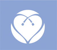 Pathways-logo-heart-white-periwinkle-background