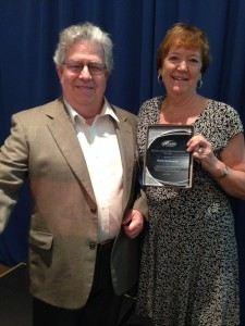 "LACF Board Co-chair receives ""Excellence In Preparedness"" award"