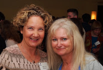 Annette Graff and Ruth Patrick at 2015 Gardner awards