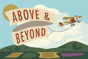 Above and Beyond Event Logo